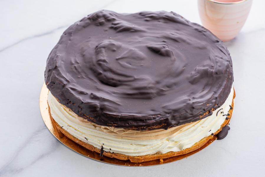 VETERNÍKOVÁ TORTA ČOKOLÁDA - VEĽKÁ cca 16 porcií