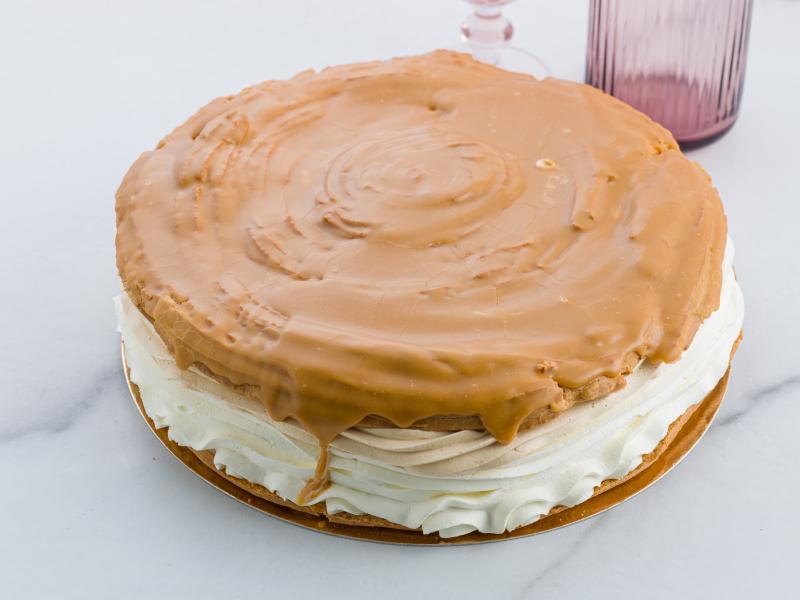 VETERNÍKOVÁ TORTA KARAMEL bezlepková - VEĽKÁ cca 16 porcií